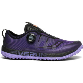 saucony Switchback ISO Sko Damer, purple/black